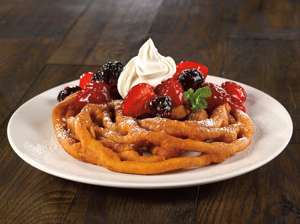 10 inch Funnel Cake Photo