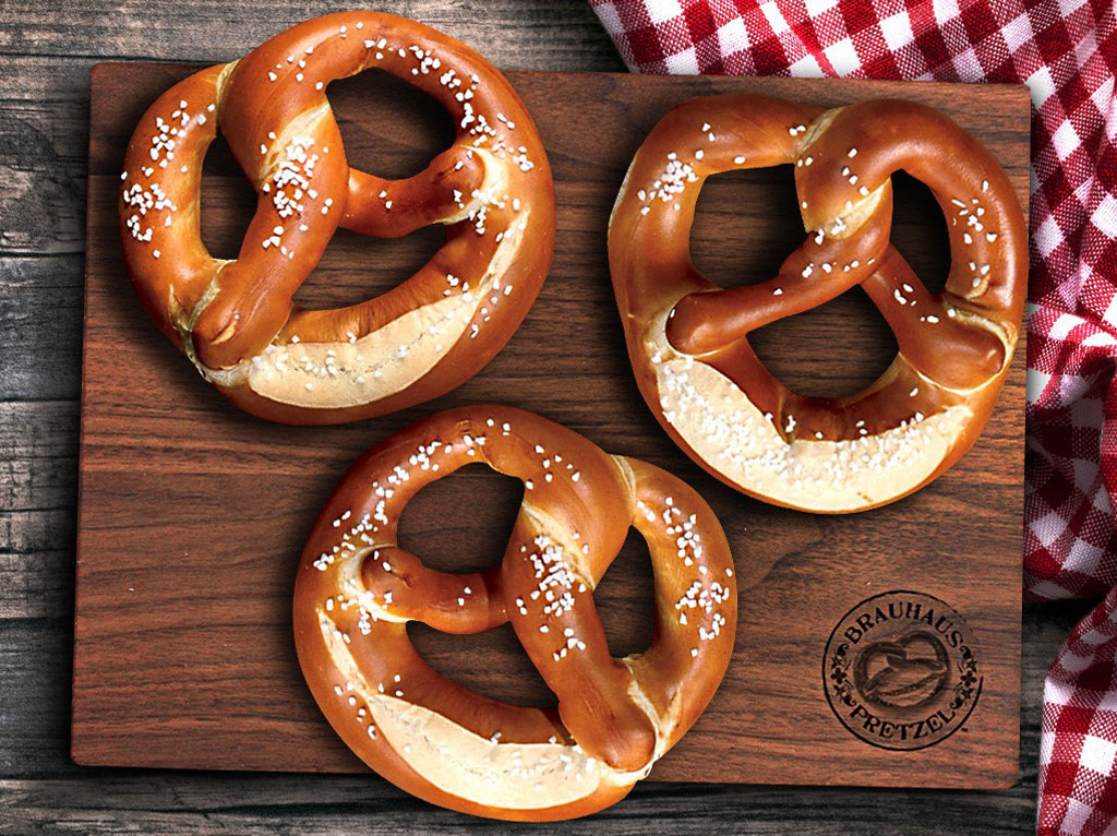 Brahaus Pretzel Authentic Bavarian Soft Pretzels Photo