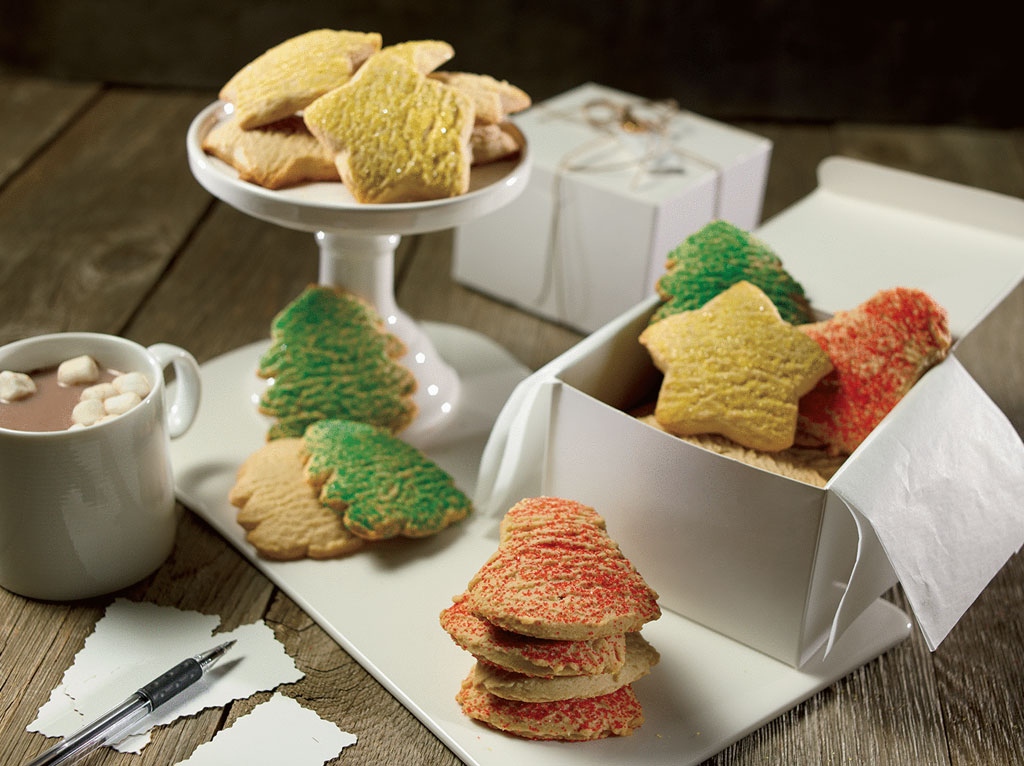 Holiday Themed Cookies Photo