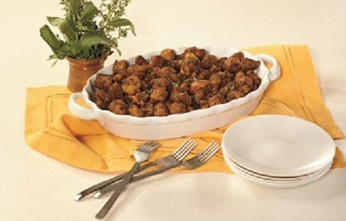 Soft Pretzel Stuffing Photo