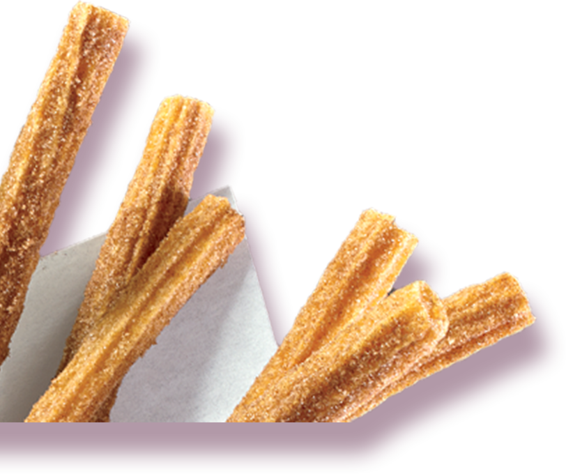 Churros in holder
