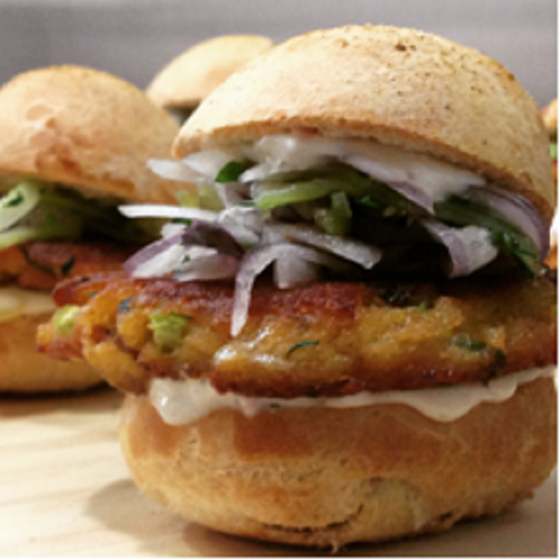 Crab Cake Sliders Photo