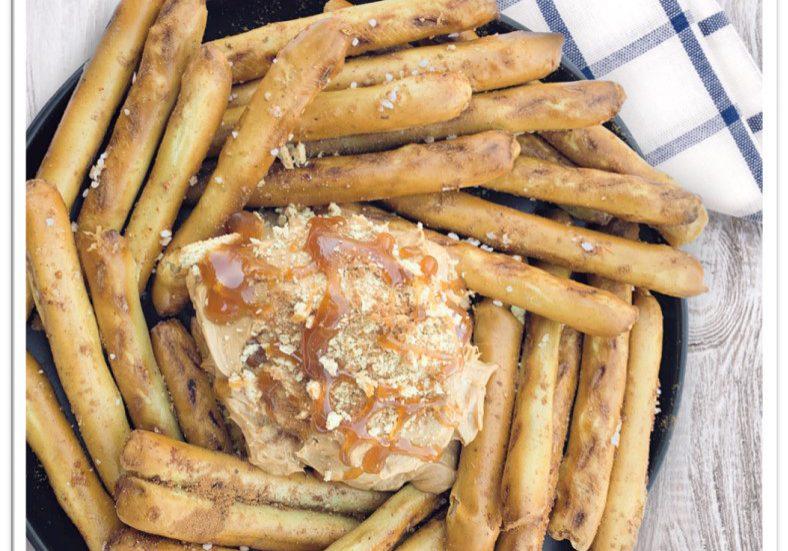 Churro Spiced Soft Pretzel Fries