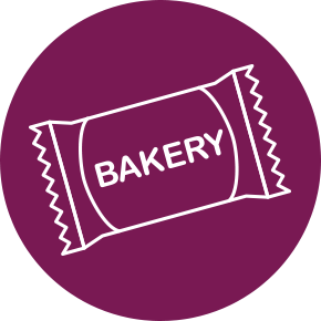 PRE-PACKAGED BAKERY Icon