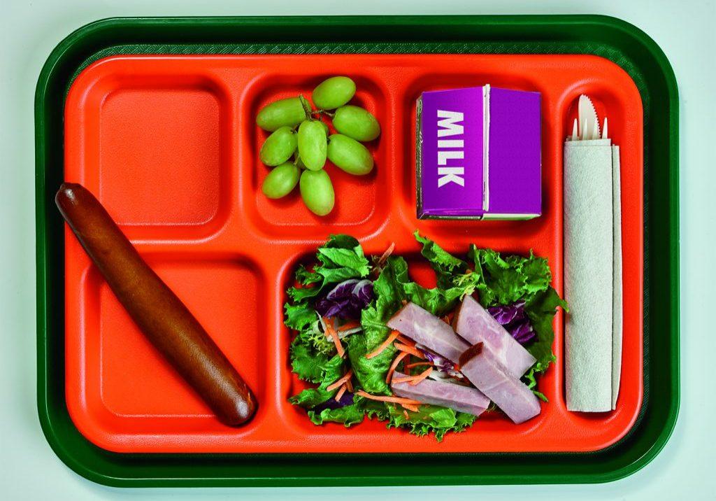 K-12 School Tray